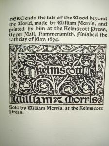 Morris colophon