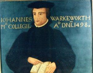 Panel painting of John Warkworth, c. 1425-1500, Peterhouse