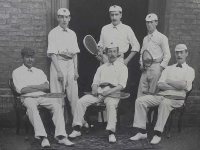 Tennis team 1895
