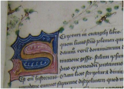 MS 111, f. 1